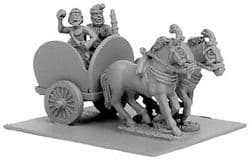 Xyston 15mm Ancients ANC20139 Indian 2-Horse Chariot & 2 Crew (1)